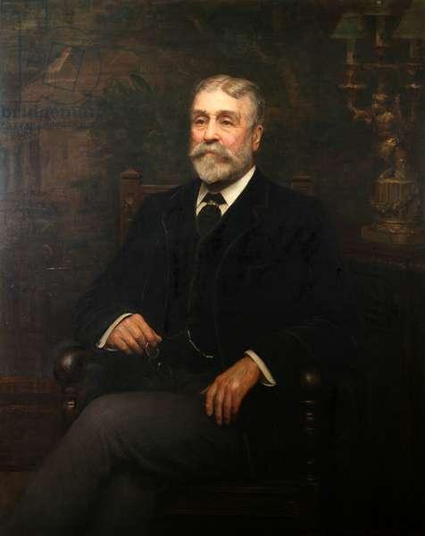 Portrait of Lord Glantawe, 1905 (oil on canvas)