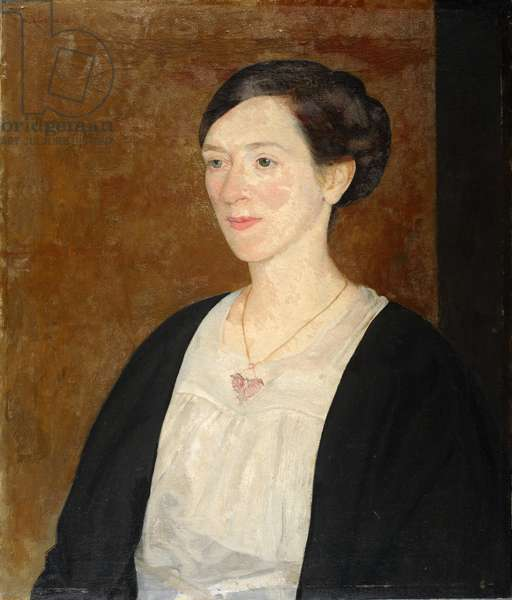 Portrait of Mrs Grant Murray, 1920 (oil on canvas)