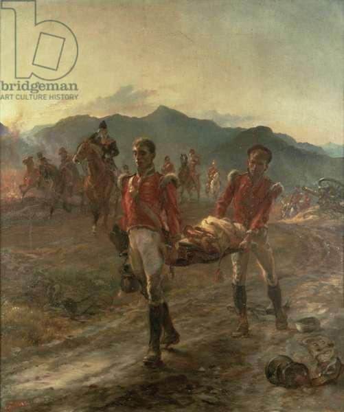 On the Morrow of Talavera, 1923 (oil on canvas)