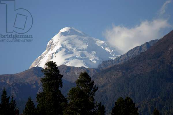 Bhutan - Jhomolhari Mountain