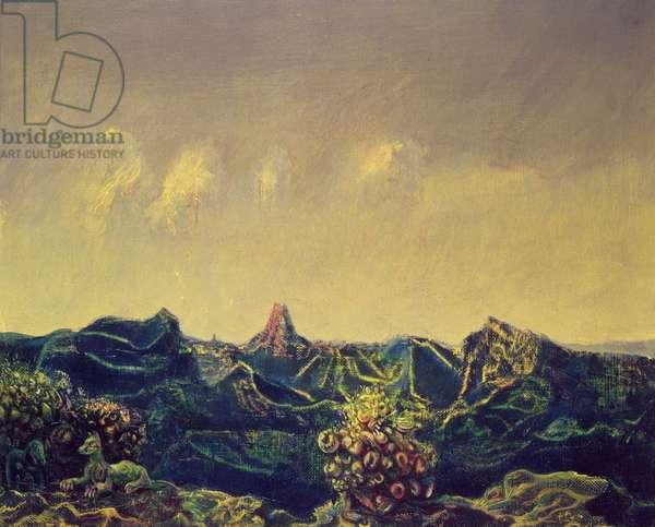 Antipodes du Paysage (oil on canvas)