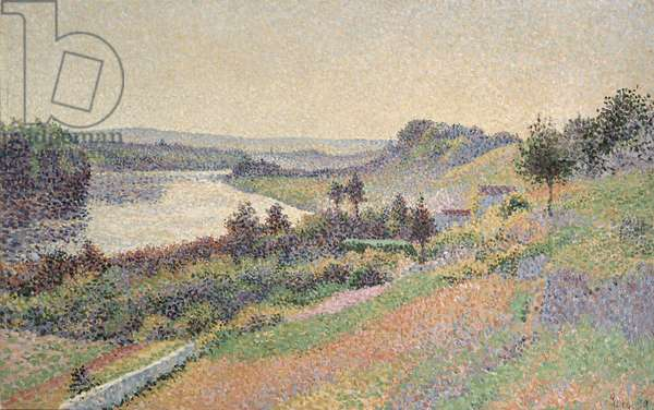 The Seine at Herblay, 1890 (oil on canvas)