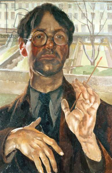 Self portrait (Adelaide Road), 1939 (oil on canvas)