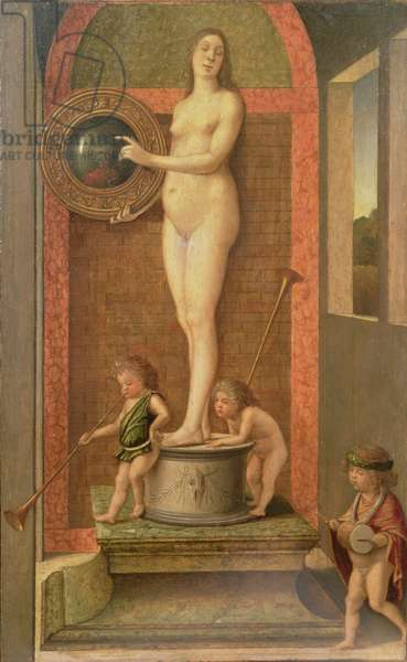 Vanity (oil on panel)