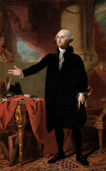 Portrait of George Washington, 1779 (oil on canvas)