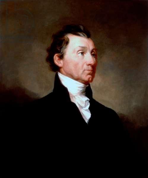 Portrait of James Monroe, c.1819 (oil on canvas)