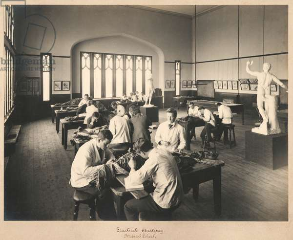 1920s Anatomy Class, 1927 (silver print photograph)