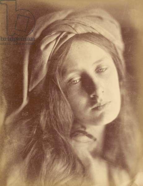 Beatrice by Julia Margaret Cameron, 1866 (albumen print)
