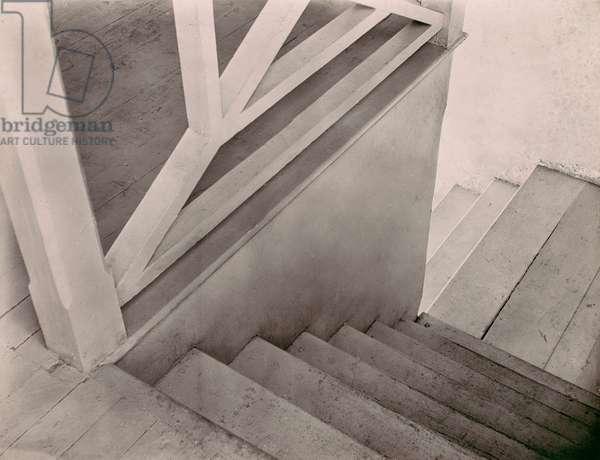 Stairs, Mexico City by Tina Modotti, 1920s (platinum print)