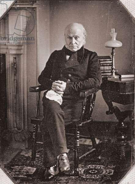 Portrait of John Quincy Adams, c.1840s (daguerreotype)