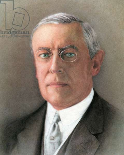 Woodrow Wilson, 1965 (screen print)