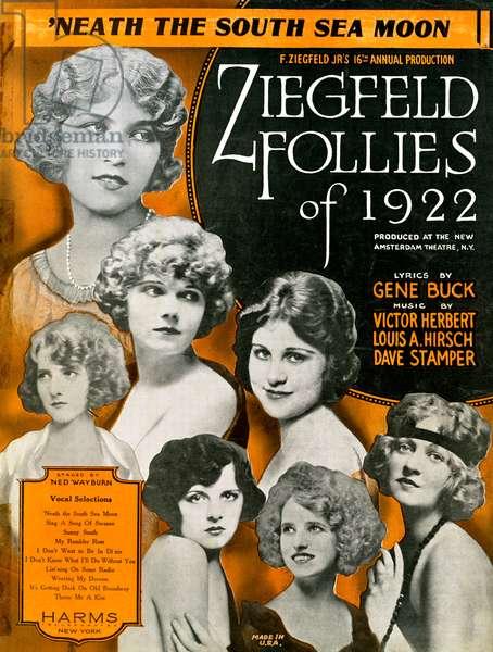 The Ziegfeld Follies of 1922, 1922 (screen print)