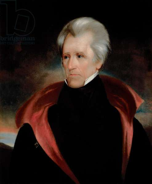 Portrait of Andrew Jackson, c.1837 (oil on canvas)