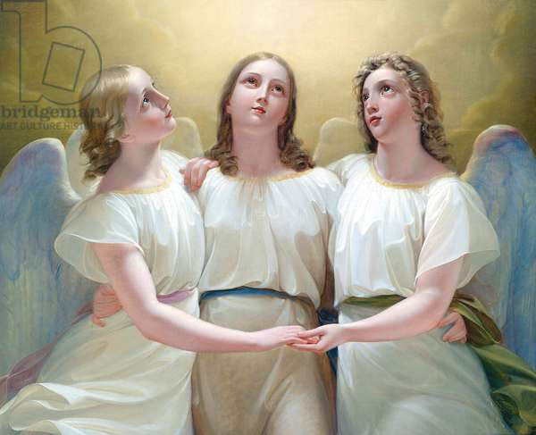 Three Guardian Angels, 1822 (oil on canvas)