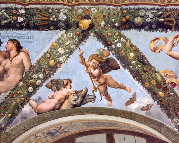 Cupids with Cerberus, 1517-18 (fresco)