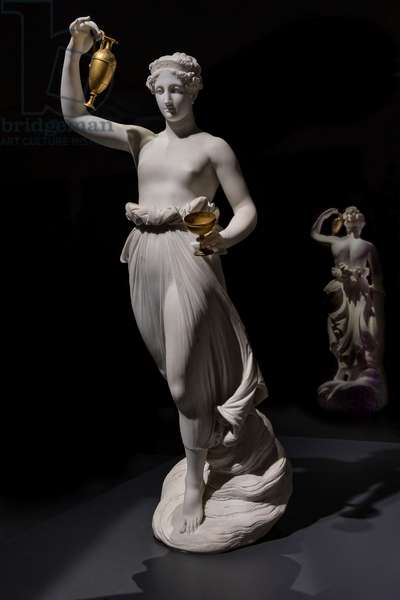 Hebe, 1800-05 (marble)