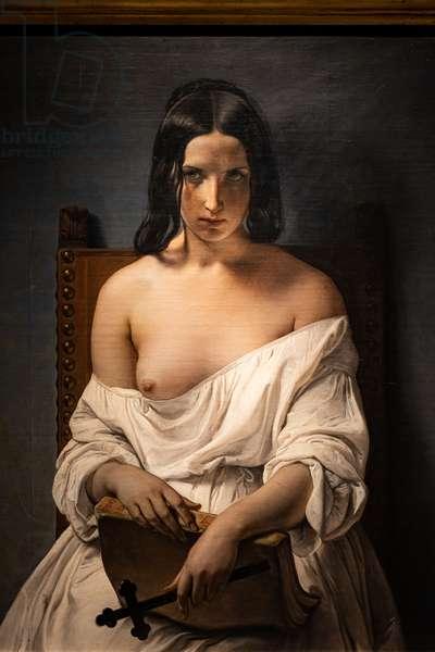 Meditation, 1838 (oil on canvas)