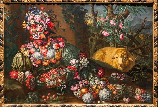 Spring, 1685-95 (oil on canvas)