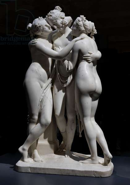 The three Graces, 1812-17 (marble)
