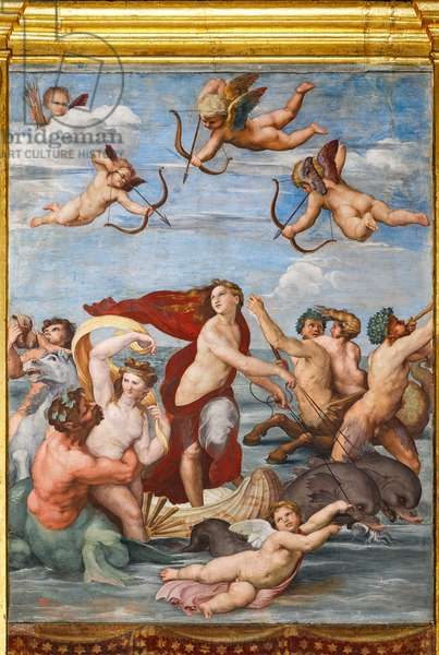 The Triumph of Galatea, 1513-14 (fresco)