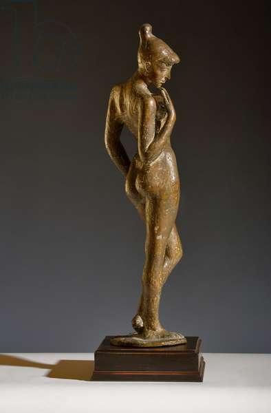 Standing Female Nude (bronze)