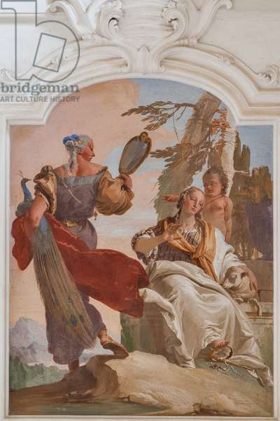 Humility sending away Pride, 1734 (fresco)