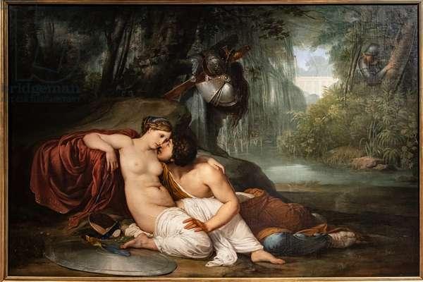 Rinaldo and Armida, 1812 (oil on canvas)