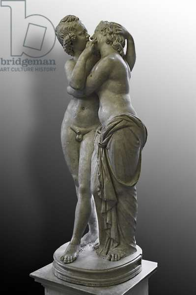 Cupid and Psyche from a Greek original of the 2nd century BC (marble)