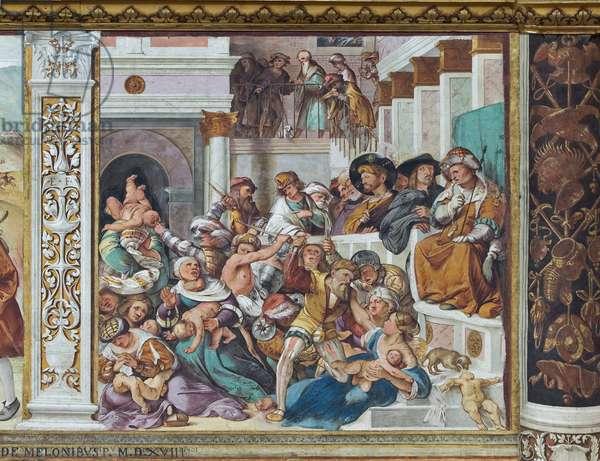 Massacre of Innocents, 1517 (fresco)