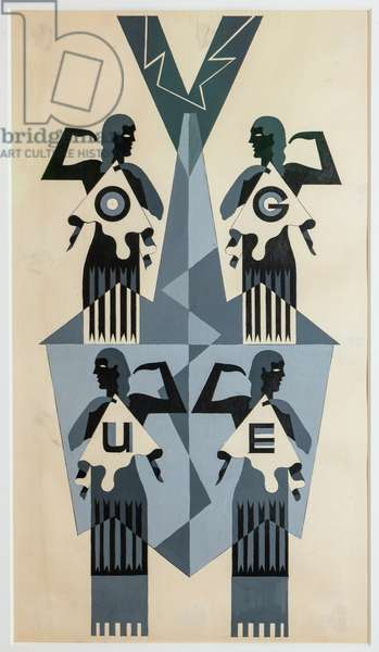 Studio for Vogue illustration and cover, 1929-1930