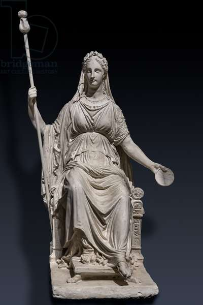 Marie Louise of Hapsburg as Concordia, 1810 (plaster)