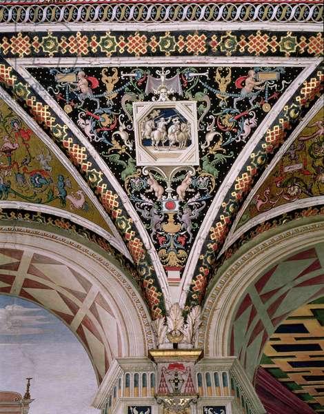 Spandrel and vault, 1503-08 (fresco)