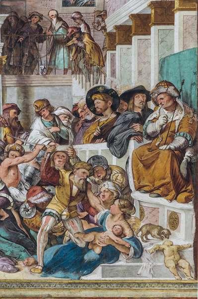 Massacre of Innocents, 1517, detail (fresco)
