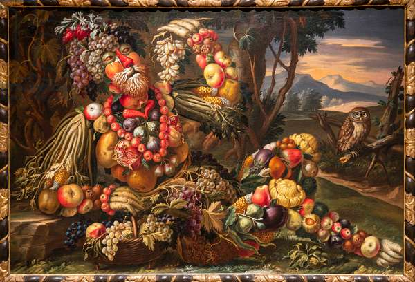 Autumn (oil on canvas)