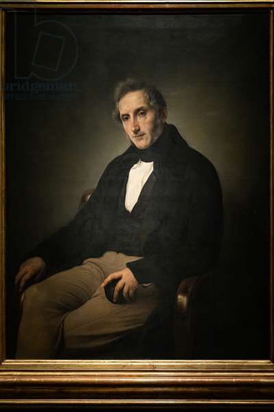 Portrait of Alessandro Manzoni, (1841) 1874 (oil on canvas)