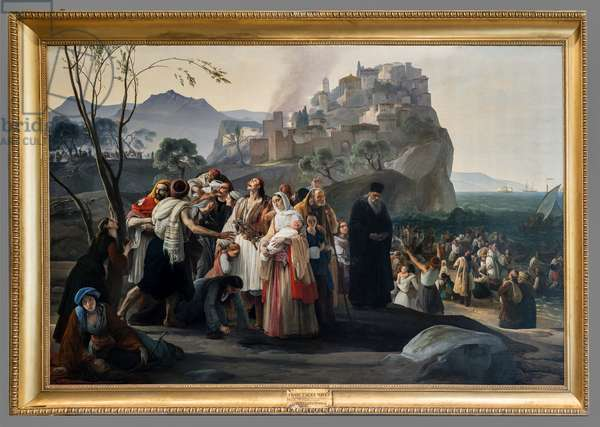 The Refugees pf Parha, 1826-31 (oil on canvas)