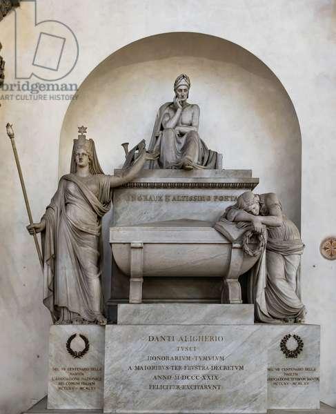 Dante's Cenotaph, right aisle