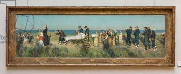 Il Morticello, 1884 (oil on canvas on panel)
