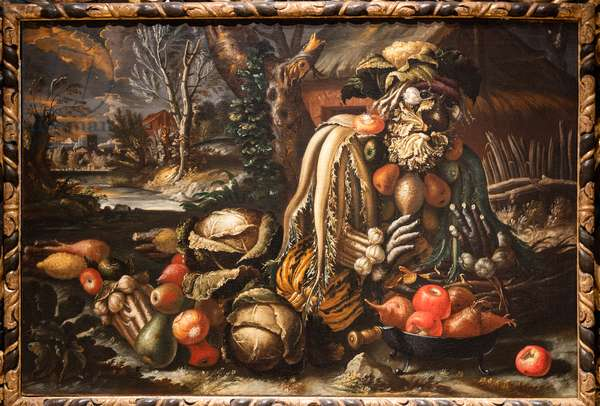 Winter, 1685-95 (oil on canvas)