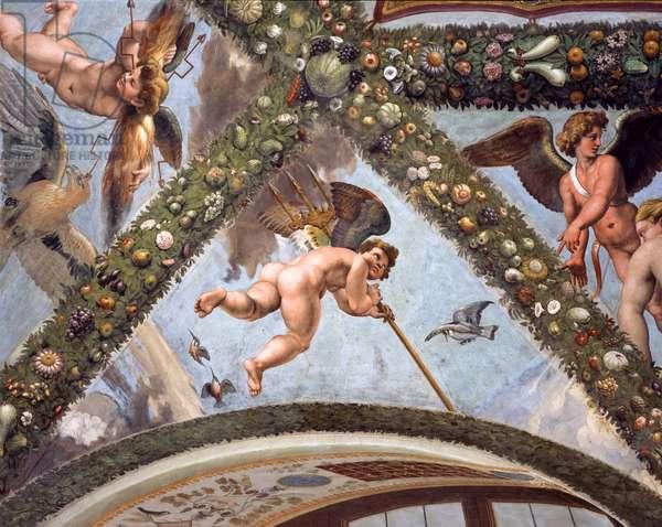 Mercurius, 1517-18 (fresco)