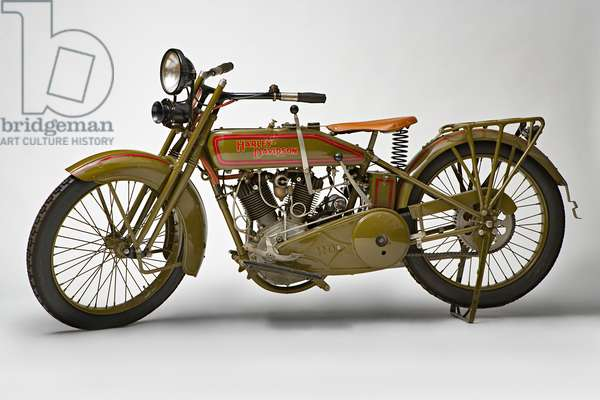 Classic Motorbike Harley-Davidson 22 JD (photo)