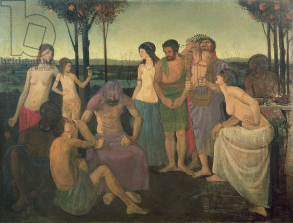 Allegory, c.1910 (oil on canvas)