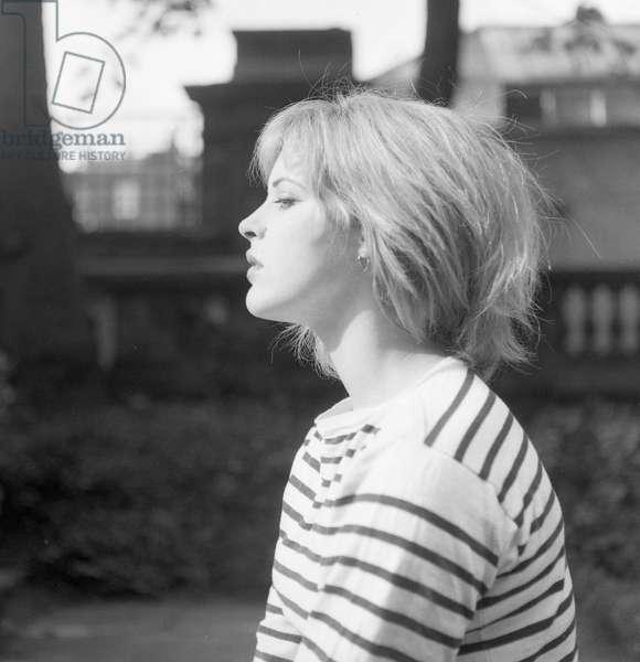 Pauline Boty, 1960 (b/w photo)
