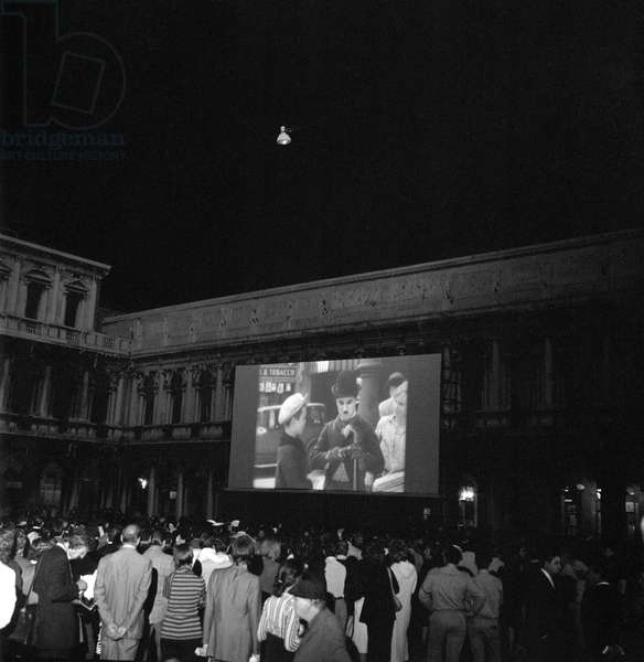 A RETROSPECTIVE OF THE ACTOR CHARLIE CHAPLIN AT THE XXXIIII INTERNATIONAL FILM FESTIVAL IN VENICE - 1972