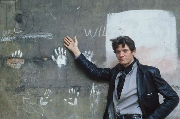 Portrait of American photographer Robert Mapplethorpe in 1984