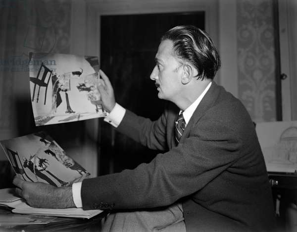 THE PAINTER SALVADOR DALI - VENICE - 1948