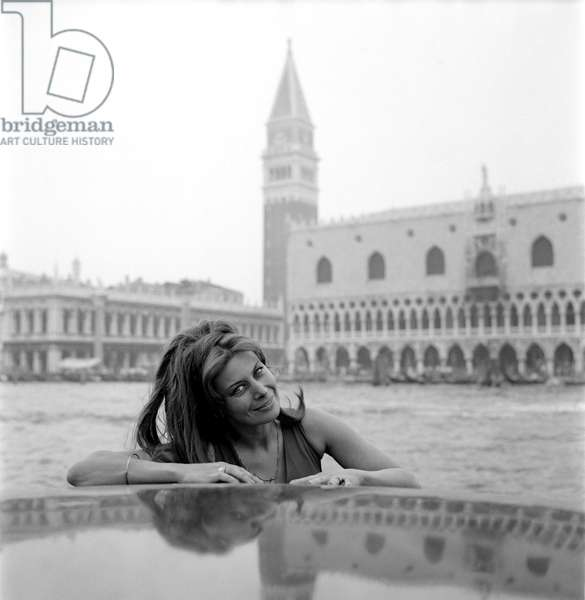 THE ACTRESS MAGALI NOEL IN VENICE - 1969