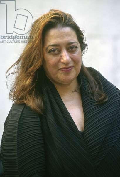 Portrait of Zaha Hadid - 1999