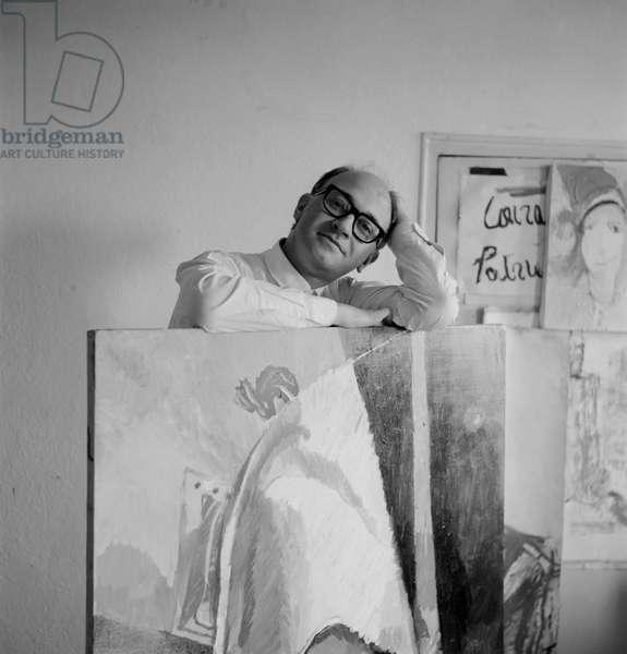 THE PAINTER ALBERTO GIANQUINTO - 196?