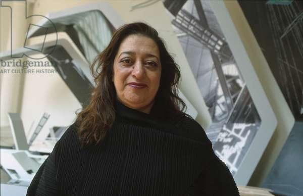 Portrait of Zaha Hadid - 2000